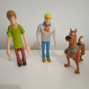 Scooby Doo action figures Scooby Shaggy Fred