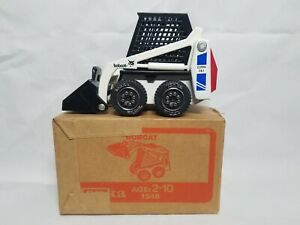 Bobcat 741 Clark Blue Skid Steer Loader Tonka 1:25 Scale Model Toy NIB