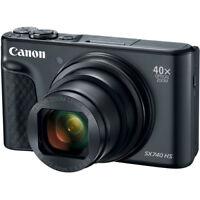 Canon PowerShot SX740 20.3MP CMOS 40x Zoom Wifi / NFC Digital Camera Black