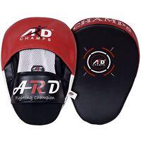 ARD CHAMPS™ Punching Mitts Leather Art Boxing Punching MMA Training Kick Boxing
