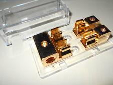 RadioShack 24kt Gold Plated Heavy-Duty Amplifier AMP Fuse Block Cat. No. 270-704