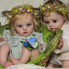 """DIY Unpainted Doll Accessories Silicone Reborn Baby Doll Kit 12"""" Elves Dolls"""