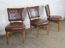 1//3 50er Jahre Stühle Stuhl 50s Vintage 60er Dinning Chair 50s 60s