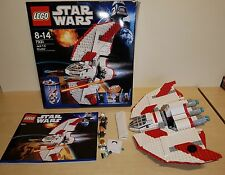 LEGO 7931 Star Wars T-6 Jedi Shuttle 100% Complete Set Boxed with Instructions