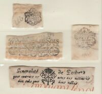 MX-8 Cinderella revenue stamp France see Shipping note - note mostly on vellum