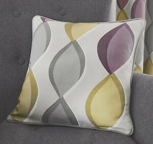 "Fusion 'Lennox' 100% Cotton Cushion Cover - Heather (17"" x 17"")"