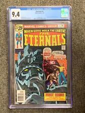 ETERNALS #1, (1976), Marvel Comics, CGC 9.4, White Pages