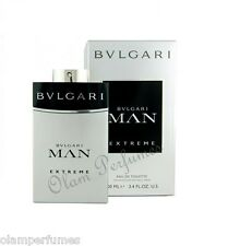 Bvlgari Man Extreme Eau de Toilette Spray 3.4oz 100ml * New in Box Sealed *