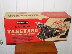 Vintage Remco ICBM Vanguard Satellite Launcher in Box