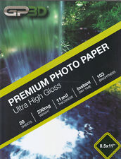 Photo Paper Glossy 8.5x11 20 Sheets per Pack with FREE Shipping