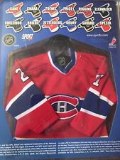 Montreal Canadien NHL Collection Higgins 21 Micro Jersey