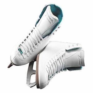 Riedell 119 Emerald Figure Skates White