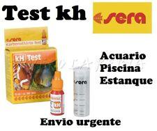 ACUARIO TEST KH SERA analisis agua Nº1 EN ACUARIOFILIA