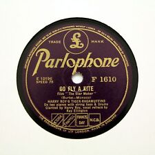 "Harry Roy's Tiger-ragamuffins ""Aller voler un cerf-volant"" (E +) Parlophone F-1610 [78 tours]"