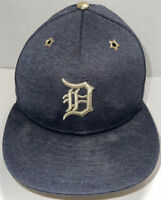 Detroit Tigers New Era  2017 MLB All-Star Patch 59FIFTY Fitted Hat Size 6 7/8.