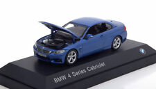 BMW 4ER 3.5I SERIES CABRIOLET 2013 F32 METAL BLUE I-SCALE 80422336865 1/43 BLAU
