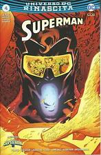 SUPERMAN RINASCITA 4 RISTAMPA - SUPERMAN 119 - DC COMICS - LION ITALIANO - NUOVO