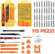 Set 115 Cacciaviti di PRECISIONE kit smartphone elettricista orologiaio iphone