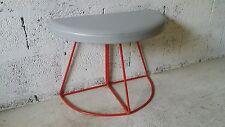 Fauteuil chaise pouf tabouret vintage années 70 80 - design italien