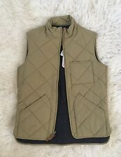 JCrew Sussex Quilted Vest Insulated Outerwear 35919 $138 Aged Teak XS SOLD-OUT!