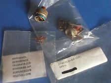 JT06RE8-6P AMPHENOL - QTY 1 - AEROSPACE NEW  JT 6C 6#22M PIN PLUG