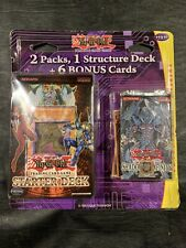 YU-GI-OH VERY RARE SEALED BLISTER/STRUCTURE DECK VALUE PACK + 6 BONUS CARDS READ