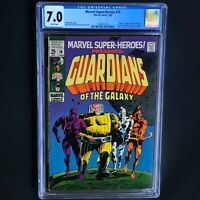 MARVEL SUPER-HEROES #18 (1969) 💥 CGC 7.0 White 💥 1ST GUARDIANS of the GALAXY!