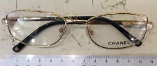 CHANEL 2086-b Mount View New Woman Metal Gold Color and Rhinestone Salt -50%
