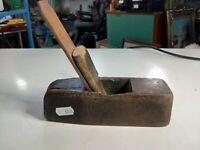 pialla a mano antica in legno 17cm.