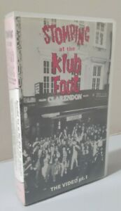 Stomping at the Klub Foot The Video Part 1 - 1986 Psychobilly VHS Tape RARE