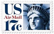 Us Postage Stamp Statue Of Liberty Metal Sign Man Cave Garage Shop Barn Usps039