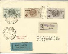 Somalia Air Post SEMI-POSTAL Sc#CB1,#CB2,#CB4 MOGADISCIO 18/1/35