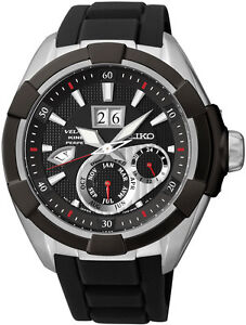 Seiko SNP101P2 SNP101 Velatura Mens Kinetic Perpetual Calendar Watch RRP$1300.00
