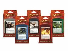 MTG MAGIC BORN OF THE GODS INTRO DECK BOX + 100 CT BOX DRAGON SHIELDS
