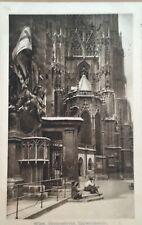 More details for 1912 postcard - austria, vienna, (wien) , stephanskirche, capistrankanzel