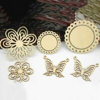 Decoration Ornament Embellishment Scrapbooking Butterfly Shapes Wooden Card