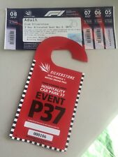 F1 Silverstone Ticket 3 Day Allocated Seat Club Silverstone +parking 07774674766