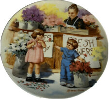 Vintage Knowles Plate The Flower Arrangement