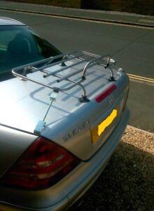 Boot luggage rack carrier, Mercedes SLK 1996-2003, aluminium bootrack & fittings