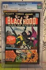 Mighty Comics #47 CGC 9.2 Black Hood 1967 Mr. Justice Jerry Siegel (Superman)