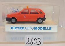 Rietze 1/87 50375 Fiat Tipo Limousine MET Belgien OVP #2603