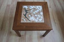 Mid Century Modern John Keal Brown Saltman Walnut & Enameled Copper side table