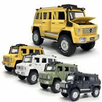 1:28 2019 Unimog U5000 SUV Die Cast Modellauto Auto Spielzeug Model Sammlung