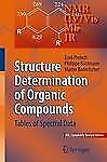 Structure Determination of Organic Compounds : Tables of Spectral Data by...