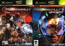 Mechassault & Mechassault 2 - Lone Wolf   PAL FORMAT XBOX ONLY