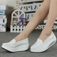 Women Platform Shoes Shape Ups Toning Fitness Walking Casual Sport Sneakers New