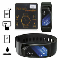 Screen Protector Film for Samsung Gear Fit2 Smart Bracelet Band Wristband E7