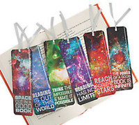 Pack of 12 - Galaxy Space Bookmarks - Party Bag Fillers Teacher School