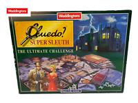 Waddingtons Cluedo? Super Sleuth Board Game - The Ultimate Challenge  -  1995