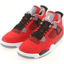 new concept 4a911 4bd4b US sz 11.5 Air Jordan 4 Retro IV TORO BRAVO RED NUBUCK SUEDE Size 11.5